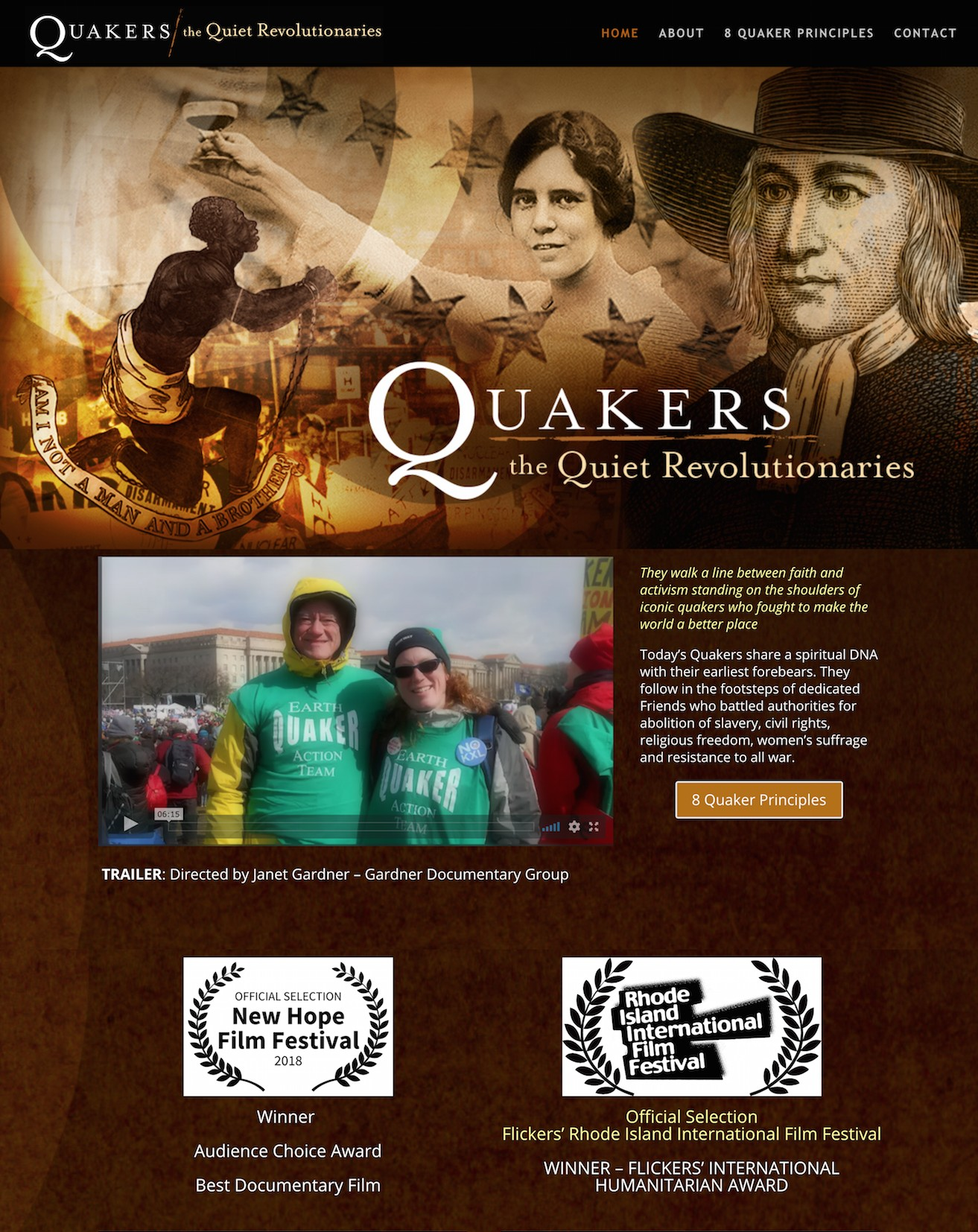 Quakers - The Quiet Revolutionaries Photo
